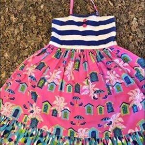 Eleanor Rose Cabana Dreams Madeline Dress sz 10/12